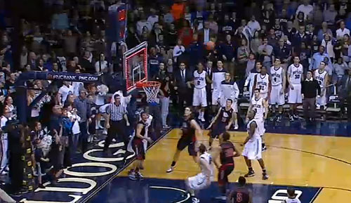 BUTLER GAME WINNING SHOT