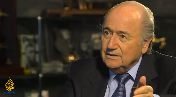 Sepp Blatter on Al Jazeera