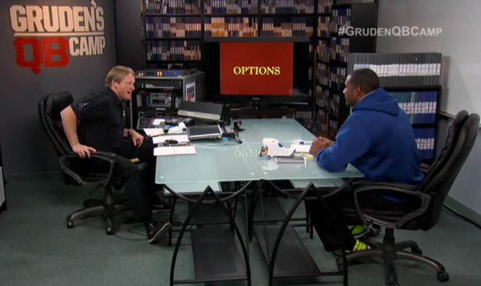 Gruden With EJ