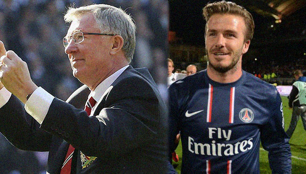 Sir Alex & Becks Retire
