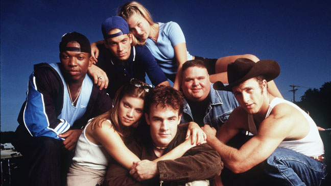 James Van Der Beek And The Cast Star In The New Movie Varsity Blues