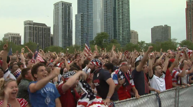 USA vs Ghana Viewing Party in Chicago