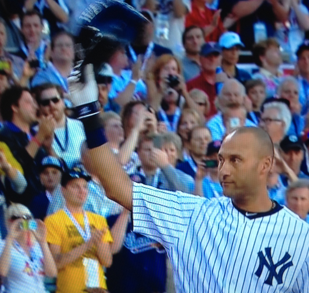 Jeter at All Star Game