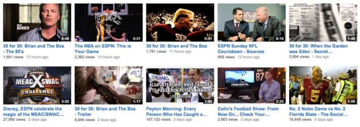 30 for 30 on YouTube