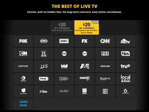 NEW SLING TV OFFERING